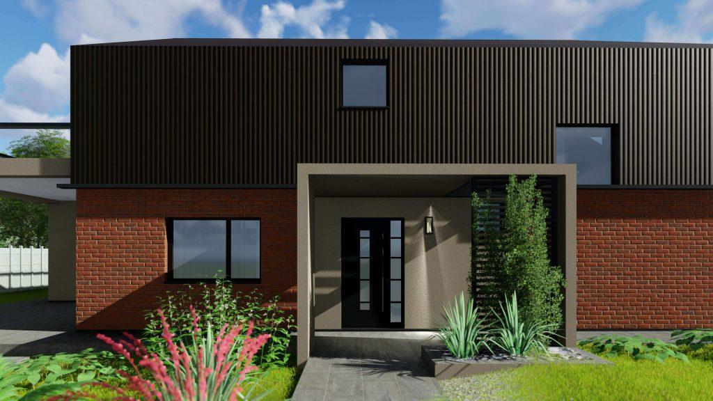 Proiect casa parter plus mansarda RUC ASD Pitesti 1